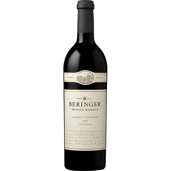 貝林格私藏納帕谷卡本內蘇維翁紅酒750ML