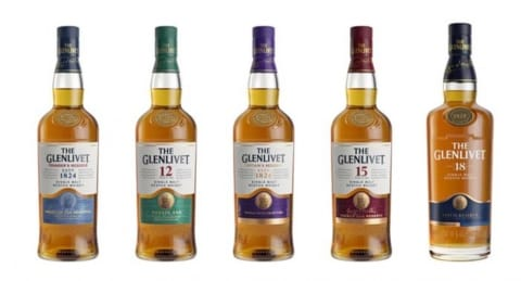 glenlivet new packaging